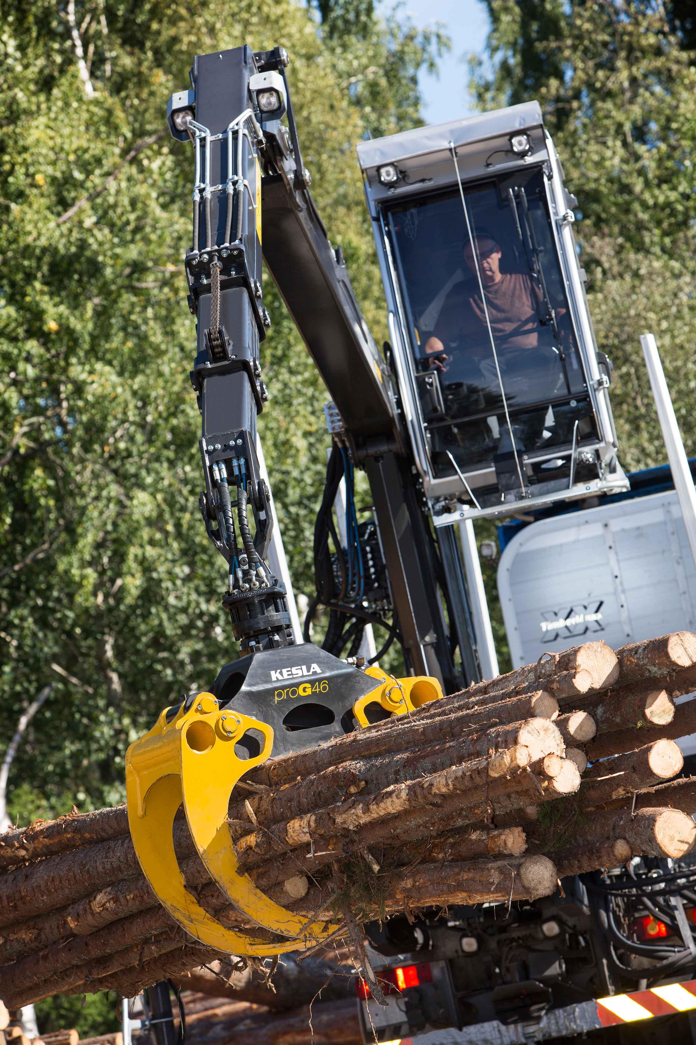 Caricatori forestali kesla dispositivo arresto motori for Bernabei rimorchi agricoli